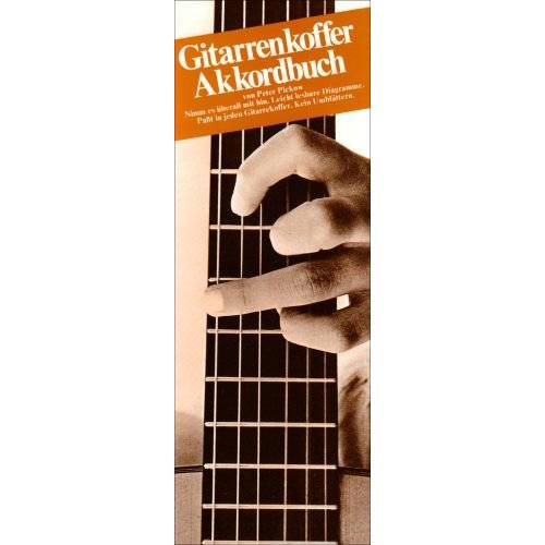 - Gitarrenkoffer Akkordbuch. Gitarre - Preis vom 28.02.2021 06:03:40 h