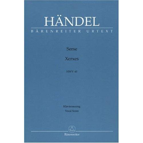 - Xerxes (Serse) Hwv 40. Klavierauszug - Preis vom 16.05.2021 04:43:40 h