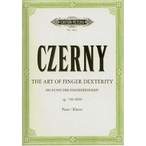 Carl Czerny - Die Kunst der Fingerfertigkeit op. 740 (699): Art of Finger Dexterity. Klavier / Piano - Preis vom 14.05.2021 04:51:20 h