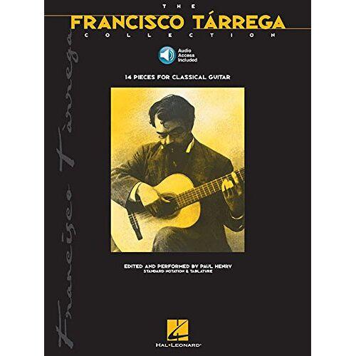 - Tarrega, F Collection Tab Book/Cd: Songbook, CD, Grifftabelle für Gitarre - Preis vom 28.02.2021 06:03:40 h
