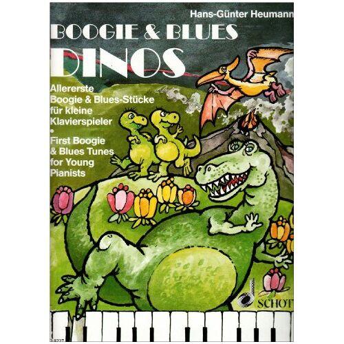 - Boogie & Blues Dinos: Allererste Boogie & Blues-Stücke für kleine Klavierspieler. Klavier. (Easy Piano Music) - Preis vom 10.04.2021 04:53:14 h