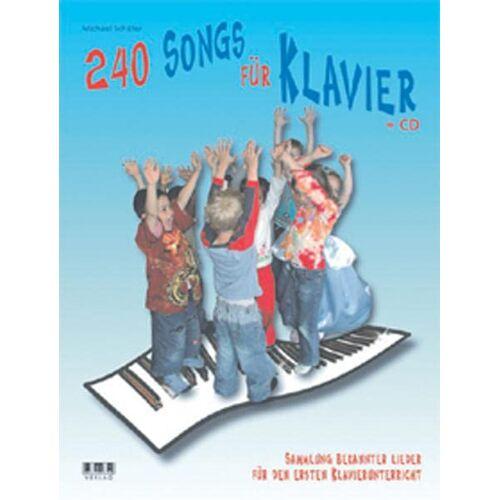 Michael Schäfer - 240 Songs für Klavier: Sammlung bekannter Lieder für den ersten Klavierunterricht - Preis vom 09.05.2021 04:52:39 h