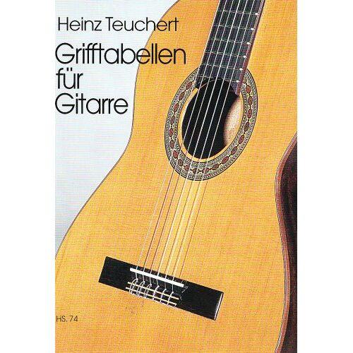 - Grifftabelle. Gitarre - Preis vom 14.04.2021 04:53:30 h