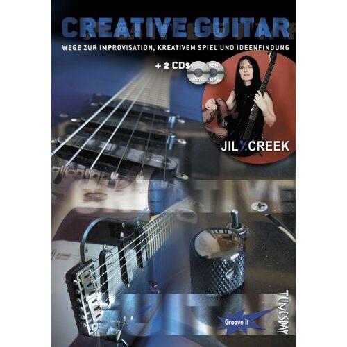 Jil Y. Creek - Creative Guitar ( E-Gitarre Lehrbuch mit 2 CDs, Noten und Tabulatur) - Preis vom 03.05.2021 04:57:00 h