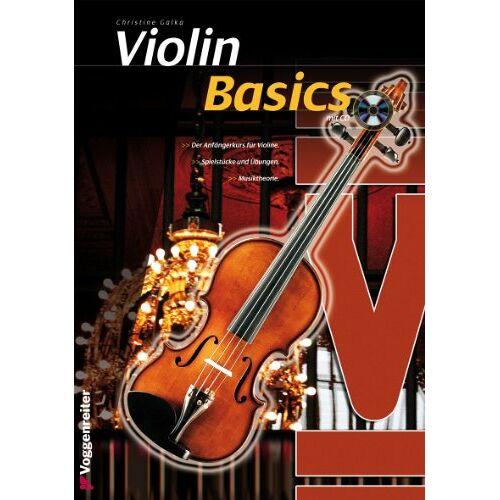 Christine Galka - Violin Basics: Die Anfängerschule für Violine! - Preis vom 03.05.2021 04:57:00 h