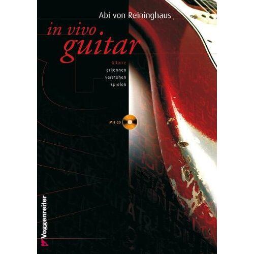 Reininghaus, Abi Von - In Vivo Guitar. Mit CD - Preis vom 20.10.2020 04:55:35 h