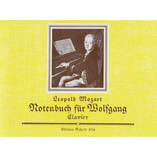 - Notenbuch Fuer Wolfgang. Klavier - Preis vom 20.10.2020 04:55:35 h