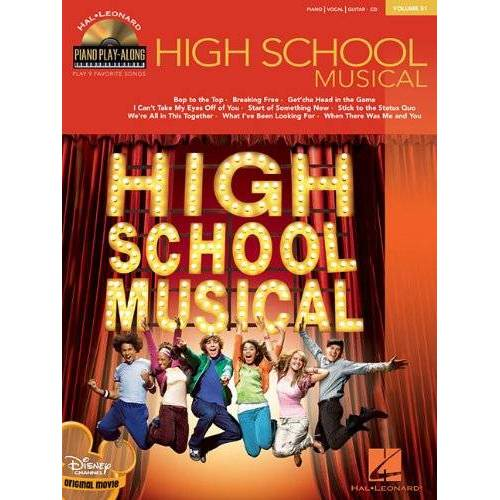 - Piano Play-Along Vol. 51 - High School Musical (mit CD) (Hal Leonard Piano Play-Along) - Preis vom 28.02.2021 06:03:40 h