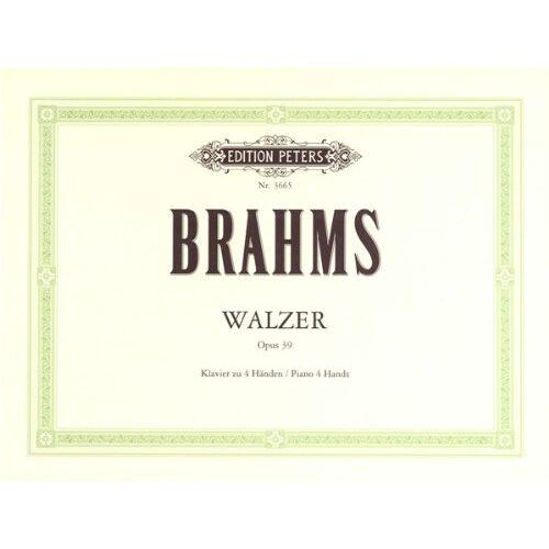 - Walzer Op 39. Klavier zu 4 Händen - Preis vom 17.04.2021 04:51:59 h
