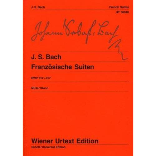 - Franzoesische Suiten Bwv 812-817. Klavier - Preis vom 15.01.2021 06:07:28 h