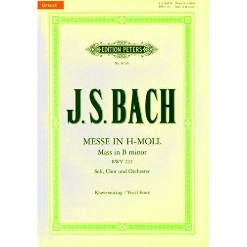 - Messe H-Moll BWV 232. Klavierauszug - Preis vom 21.04.2021 04:48:01 h