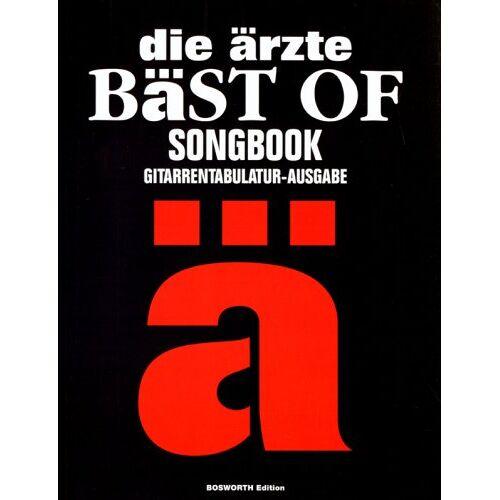 Die Ärzte - die ärzte: Bäst Of. Songbook. Gitarrentabulatur-Ausgabe - Preis vom 21.10.2020 04:49:09 h