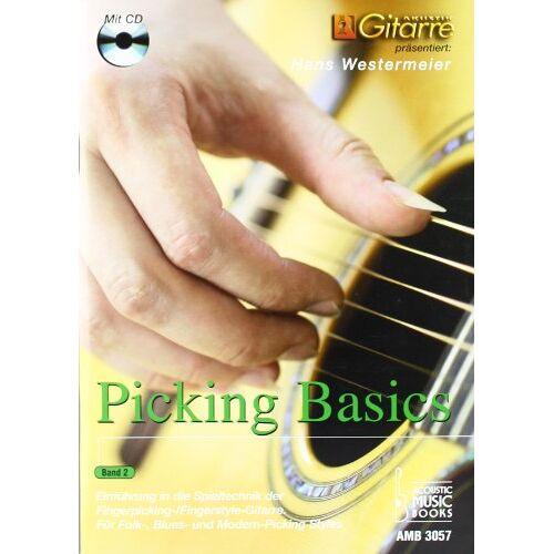 Hans Westermeier - Picking Basics. Einführung in die Spieltechnik der Fingerpicking-/Fingerstyle-Gitarre. Für Folk-, Blues- und Modern-Picking Styles. Band 2 - Preis vom 11.05.2021 04:49:30 h