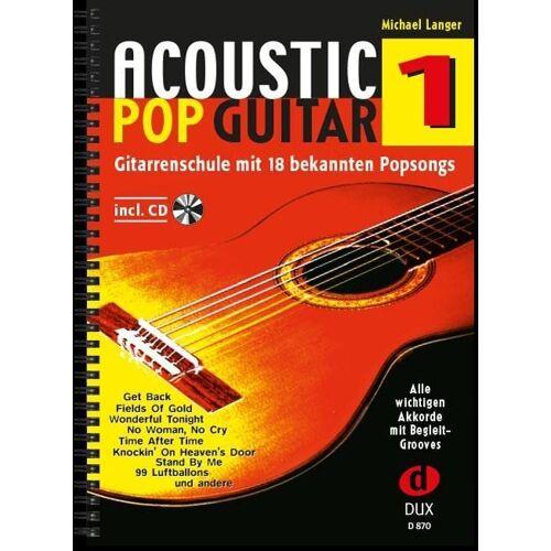 - Acoustic Pop Guitar 1: Gitarrenschule mit 18 bekannten Popsongs incl. CD: Alle wichtigen Pickings & Strummings Schritt für Schritt - Preis vom 28.02.2021 06:03:40 h