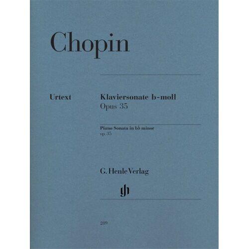 Chopin, Frédéric/Hrsg. Zimmermann, Ewald - Klaviersonate b-moll op. 35 - Preis vom 20.10.2020 04:55:35 h
