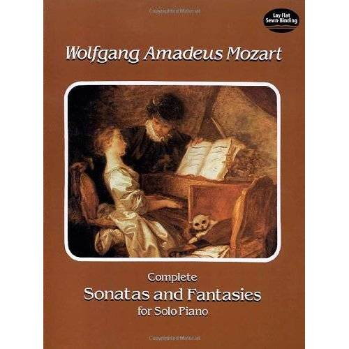 W.a. Mozart - W.A. Mozart Complete Sonatas And Fantasies For Solo Piano (Dover Music for Piano) - Preis vom 19.01.2021 06:03:31 h