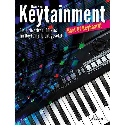 Uwe Bye - Keytainment: Best Of Keyboard!. Keyboard. - Preis vom 19.10.2020 04:51:53 h