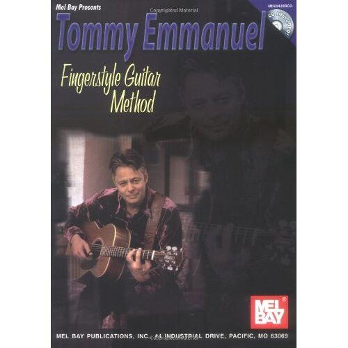 Tommy Emmanuel - Fingerstyle Guitar Method. Gitarre - Preis vom 25.01.2021 05:57:21 h