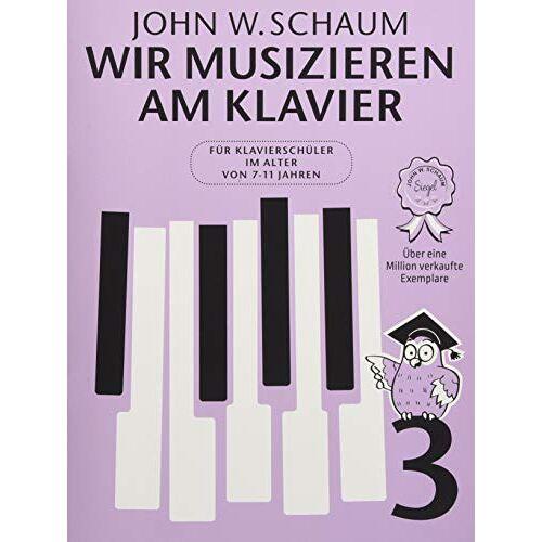 - Wir musizieren am Klavier -Band 3- (Neuauflage): Noten, Sammelband für Klavier - Preis vom 13.05.2021 04:51:36 h