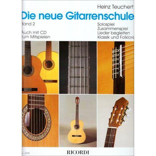 Heinz Teuchert - Die neue Gitarrenschule Band 2 - Preis vom 19.10.2020 04:51:53 h