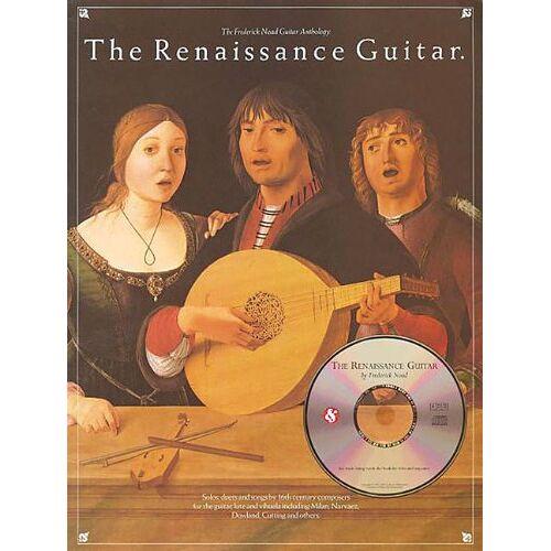 - The Renaissance Guitar: Noten, CD für Gitarre (The Frederick Noad Guitar Anthology) - Preis vom 17.04.2021 04:51:59 h