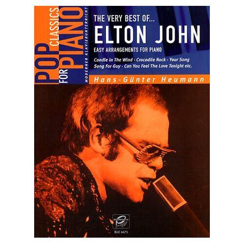 Hans-Günter Heumann - Pop Classics For Piano: The Very Best Of Elton John. Easy Arrangements for Piano - Preis vom 26.02.2021 06:01:53 h