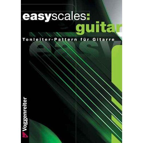 Jeromy Bessler - Easy Scales Guitar: Die wichtigsten Tonleitern auf der Gitarre - Preis vom 14.01.2021 05:56:14 h