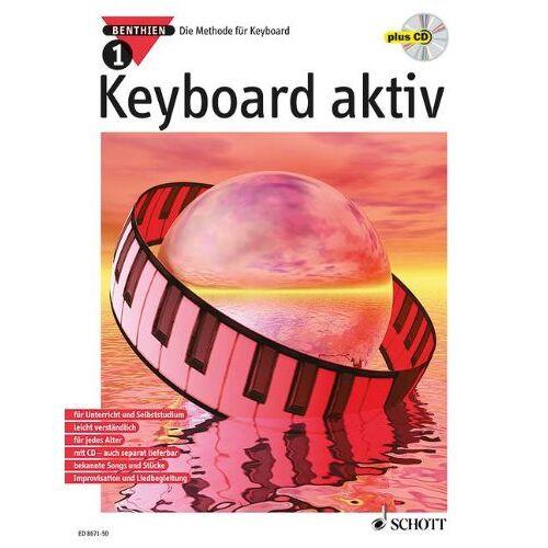 Axel Benthien - Keyboard aktiv, m. Audio-CDs, Bd.1, Mit Audio-CD: Die Methode für Keyboard - Preis vom 09.05.2021 04:52:39 h