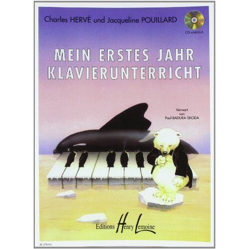 Charles Herve - Mein erstes Jahr Klavierunterricht - Preis vom 09.05.2021 04:52:39 h
