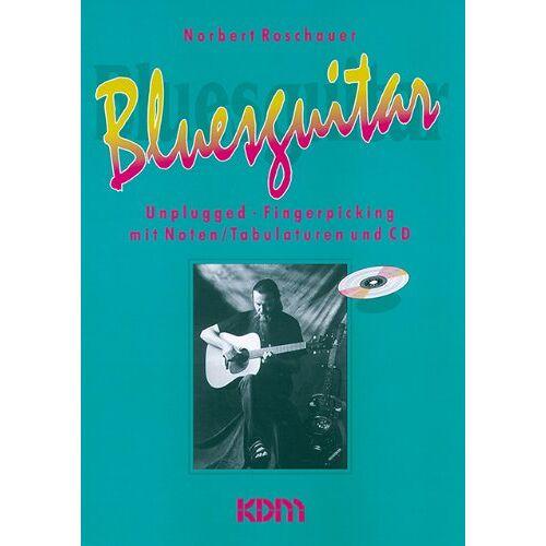 Norbert Roschauer - Bluesguitar 1 (Buch & CD) - Preis vom 28.02.2021 06:03:40 h