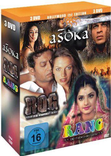 Himanshu Brahmbhatt - Bollywood Edition : Asoka The Great - Rog (Wenn Liebe krankhaft wird) - Rang (Die Farben der Liebe) - 3 DVD Box - Preis vom 23.10.2021 04:56:07 h