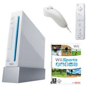 Nintendo Wii - Konsole weiß inkl. Wii Sports - Preis vom 20.10.2021 04:52:31 h