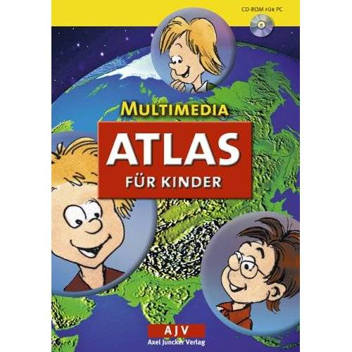Juncker Verlag - Multimedia Atlas für Kinder - Preis vom 10.04.2021 04:53:14 h