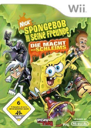 THQ - SpongeBob & Freunde - Die Macht des Schleims - Preis vom 14.03.2021 05:54:58 h
