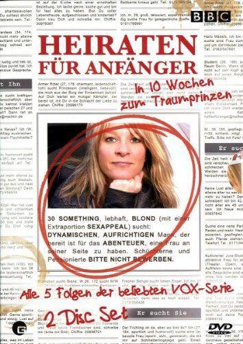 Sally Gray - Heiraten für Anfänger - In 10 Wochen zum Traumprinzen (2 DVDs) - Preis vom 15.03.2021 05:46:16 h