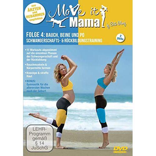 Birte Glang - Move it Mama -Schwangerschafts- & Rückbildungstraining Folge 4: Bauch, Beine und Po [2 DVDs] - Preis vom 30.07.2021 04:46:10 h