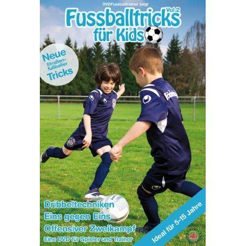 Nepomuk Fischer - Fussballtricks für Kids Vol. 2 / Neue Fußballübungen im Fußballtraining (DVD) - Preis vom 25.10.2021 04:56:05 h