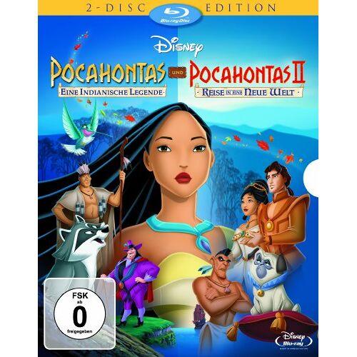 - Pocahontas - Eine indianische Legende / Pocahontas II - Reise in eine neue Welt [Blu-ray] - Preis vom 22.07.2021 04:48:11 h