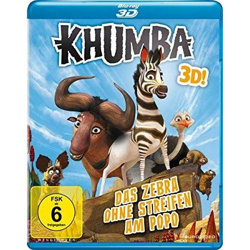 Anthony Silverston - Khumba - Das Zebra ohne Streifen am Popo [3D Blu-ray] - Preis vom 15.06.2021 04:47:52 h