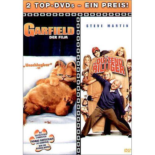- Garfield - Der Film / Im Dutzend billiger (2 DVDs) - Preis vom 13.09.2021 05:00:26 h