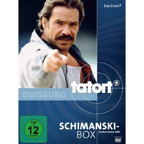 Hajo Gies - Tatort: Schimanski-Box [4 DVDs] - Preis vom 16.06.2021 04:47:02 h