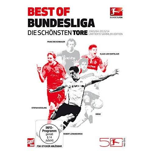 - Best of Bundesliga - Die schönsten Tore aus 50 Jahren Bundesliga (1963-2014) [6 DVDs] - Preis vom 20.06.2021 04:47:58 h