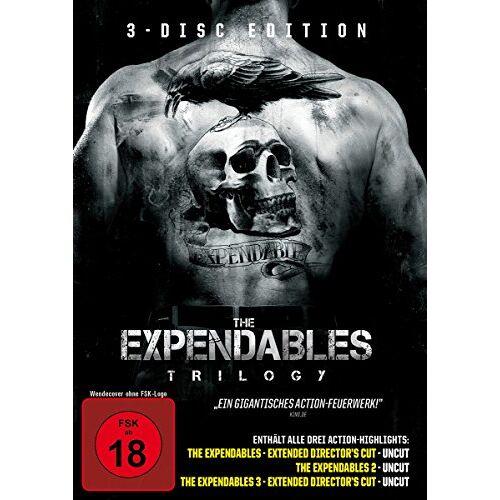 Simon West - The Expendables Trilogy [3 DVDs] - Preis vom 12.06.2021 04:48:00 h
