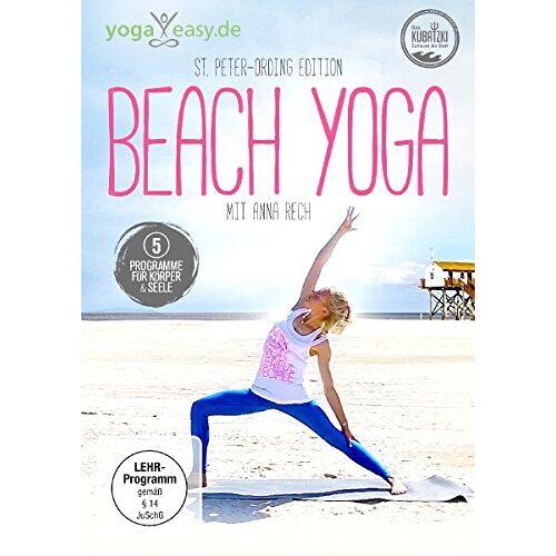 Anna Rech - Beach Yoga - Das Yoga Programm für dein Wohlbefinden - Preis vom 19.06.2021 04:48:54 h