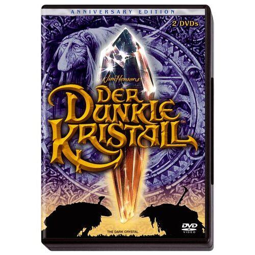 Jim Henson - Der dunkle Kristall (Anniversary Edition) [2 DVDs] - Preis vom 18.10.2021 04:54:15 h