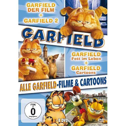 - Garfield - Alle Garfield-Filme und Cartoons [8 DVDs] - Preis vom 20.09.2021 04:52:36 h