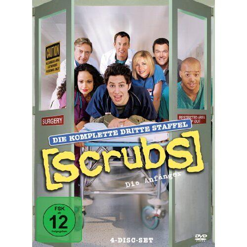 Zach Braff - Scrubs: Die Anfänger - Die komplette dritte Staffel (4 DVDs) - Preis vom 21.06.2021 04:48:19 h