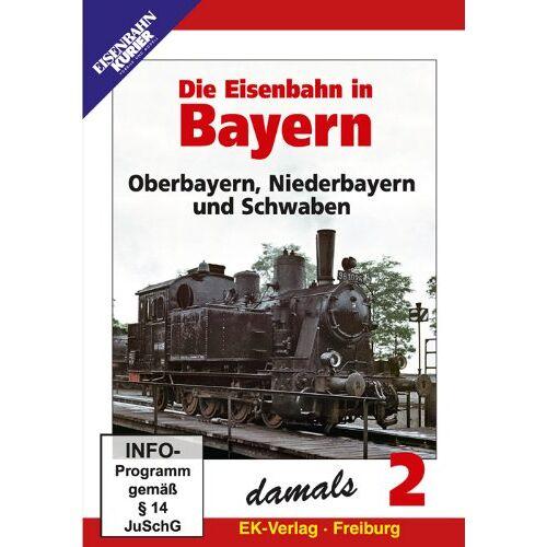 - Die Eisenbahn in Bayern - Teil 2 - Oberbayern, Niederbayern und Schwaben - Preis vom 15.09.2021 04:53:31 h