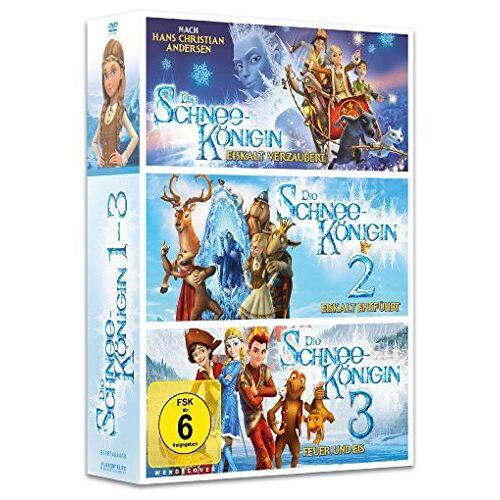 Vladlen Barbe - Die Schneekönigin 1-3 Box [3 DVDs] - Preis vom 12.06.2021 04:48:00 h