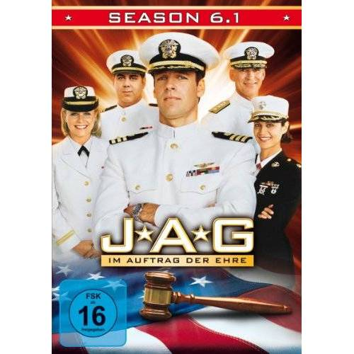 Joe Napolitano - JAG: Im Auftrag der Ehre - Season 6, Vol. 1 [3 DVDs] - Preis vom 20.06.2021 04:47:58 h